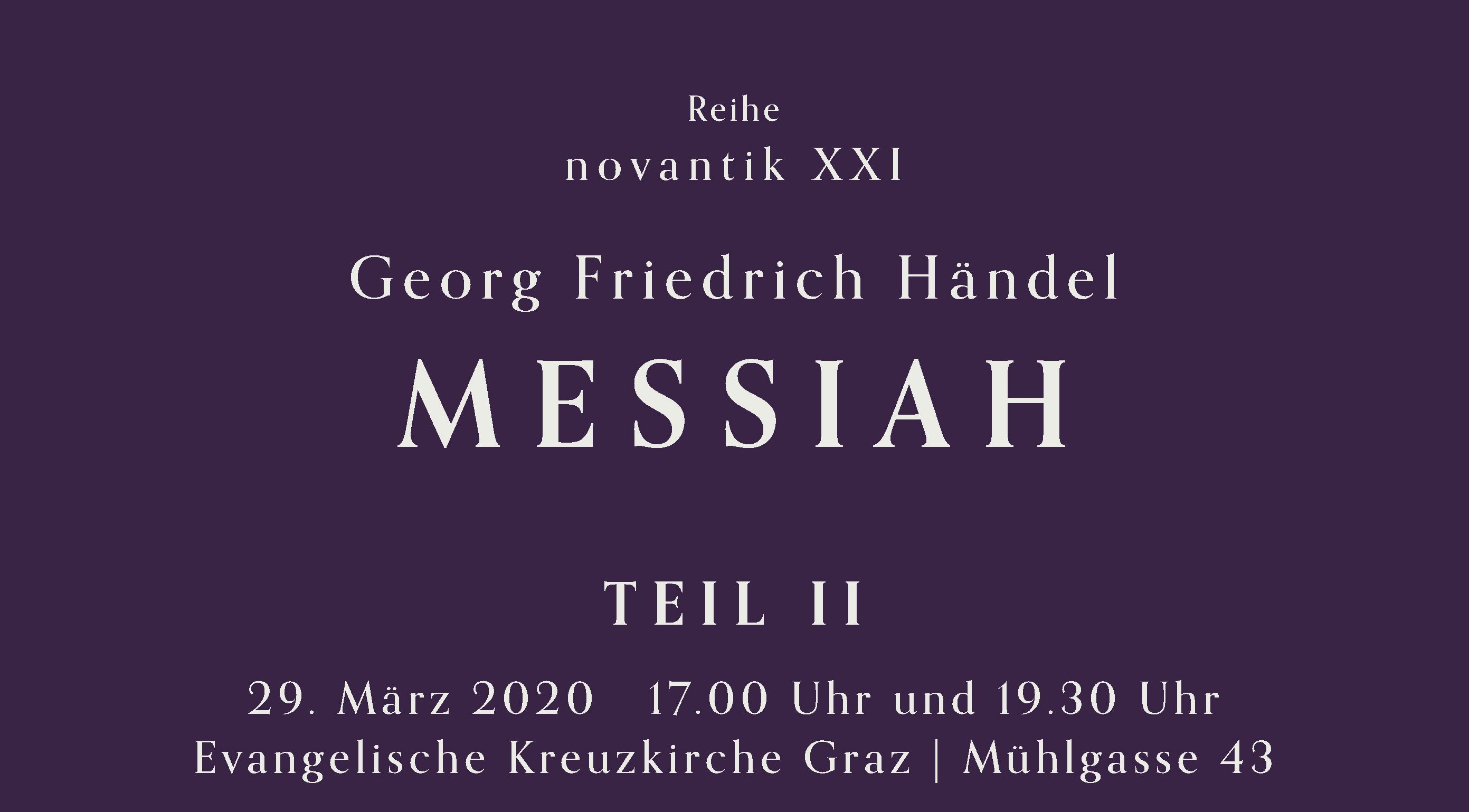 Messiah II Titelbild